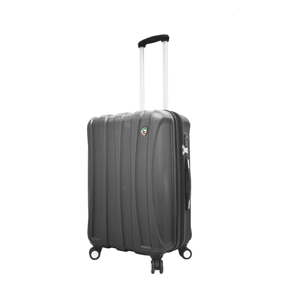 Mia Toro ITALY Tasca Fusion Hardside  Spinner Luggage - My Gaia Travel Buddy