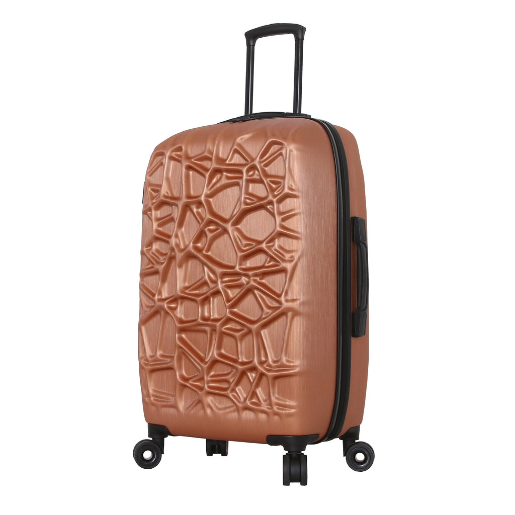 "Mia Toro ITALY ""Web"" Hard Side Spinner Luggage - My Gaia Travel Buddy"
