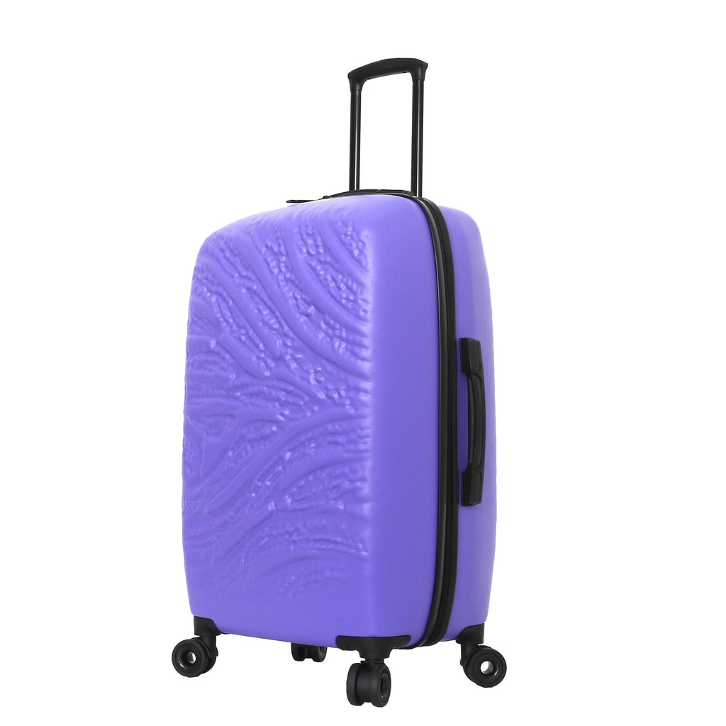 Mia Toro ITALY Zebbra Jungle Hard Side Spinner Luggage - My Gaia Travel Buddy