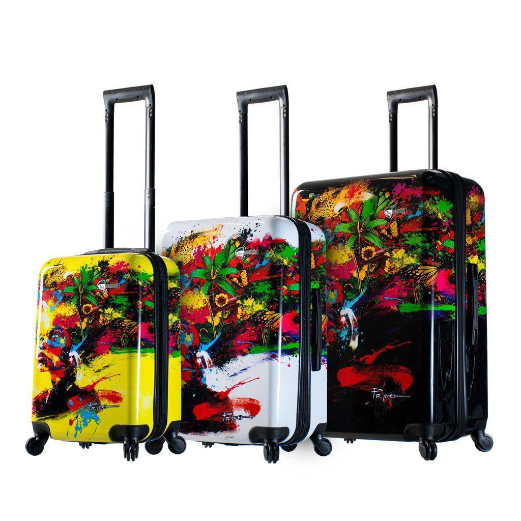 Mia Toro Prado-Beautiful Minds Hardside Spinner Luggage - My Gaia Travel Buddy