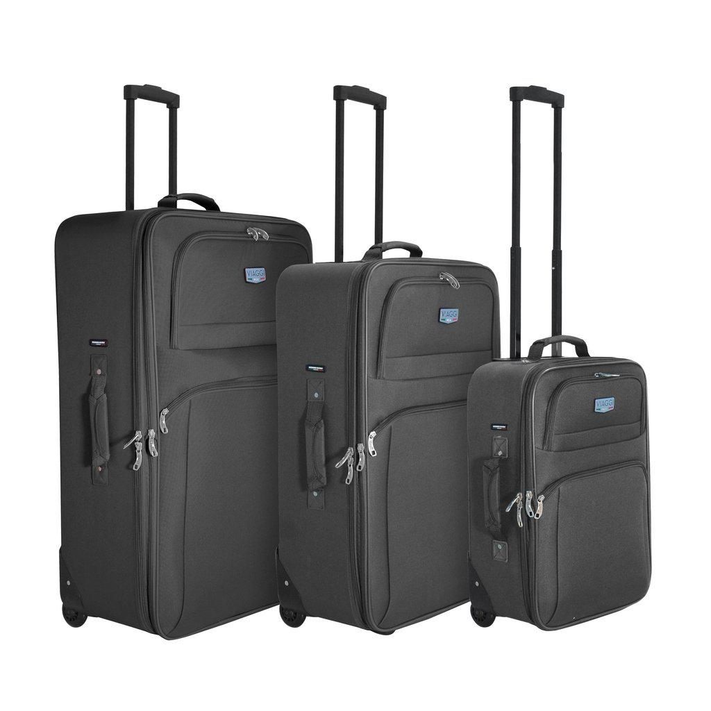 Mia Viaggi ITALY Abriola Softside Luggage 3PC set - My Gaia Travel Buddy