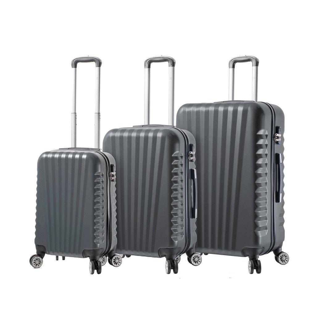 Mia Viaggi ITALY Catania Hardside Luggage 3PC set - My Gaia Travel Buddy