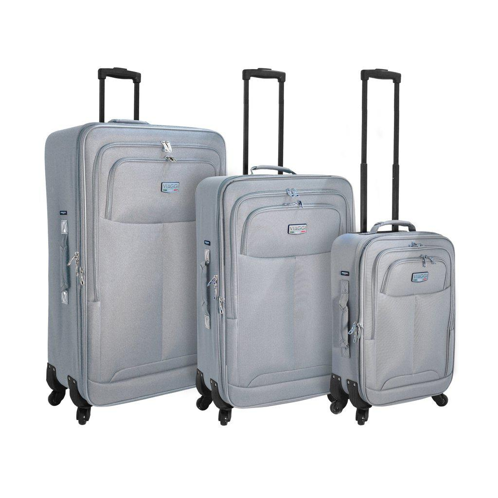 Mia Viaggi ITALY Fasano Softside Luggage  3PC set - My Gaia Travel Buddy