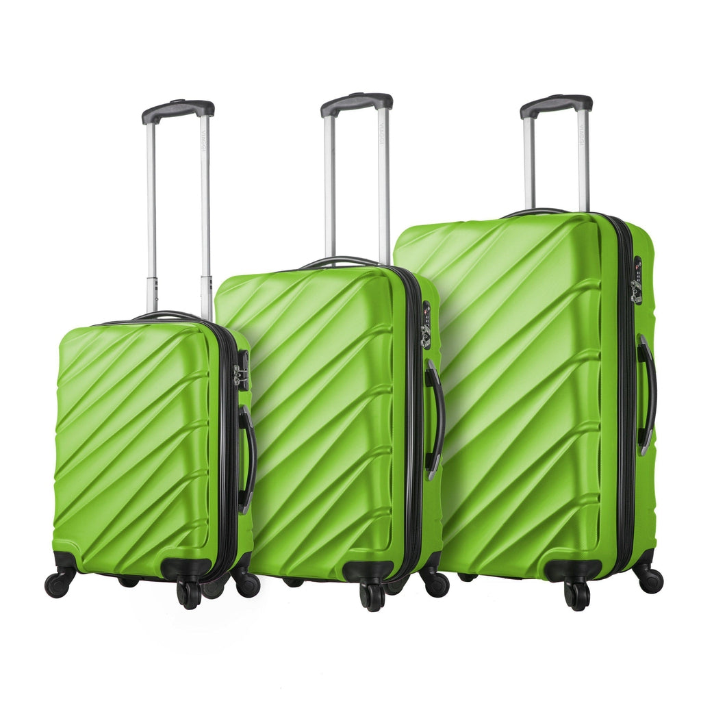 Mia Viaggi ITALY Lodi Hardside Luggage 3PC set - My Gaia Travel Buddy