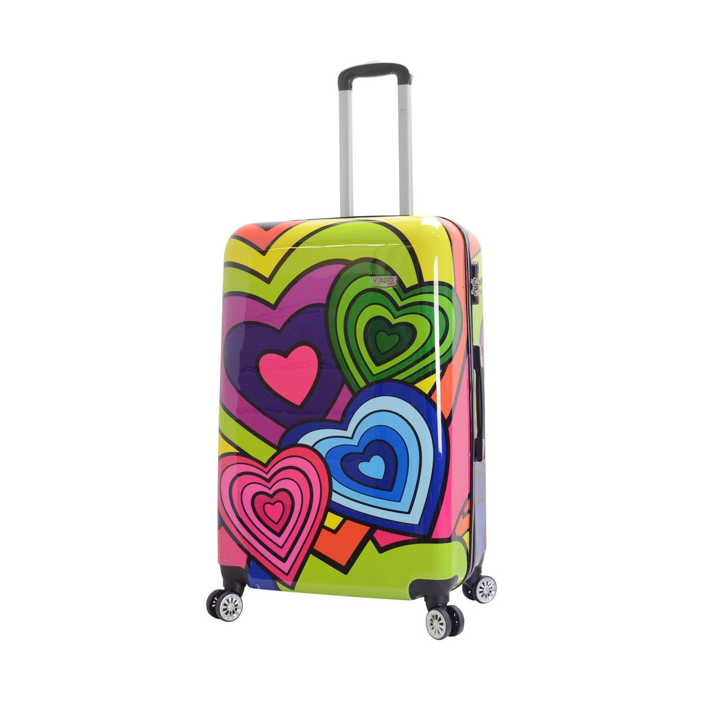 Mia Viaggi ITALY Pop Heart Hardside Luggage 3PC set - My Gaia Travel Buddy
