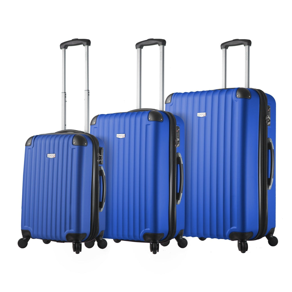 Mia Viaggi ITALY Rovigo Hardside Luggage 3PC set - My Gaia Travel Buddy