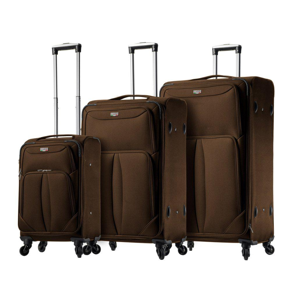 Mia Viaggi ITALY Sione softside Luggage 3PC set - My Gaia Travel Buddy