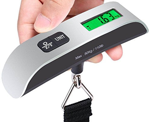 Digital Hand Held Luggage Scale-My Gaia Travel Buddy