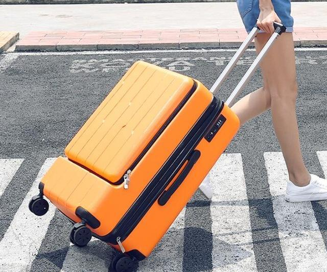 Shinjuku Station Travel Suitcase with Easy Laptop Access - My Gaia Travel Buddy