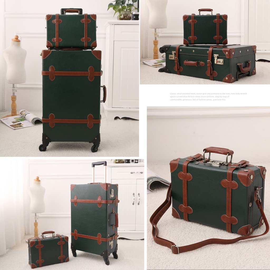 Vintage Style Travel Trunk Luggage