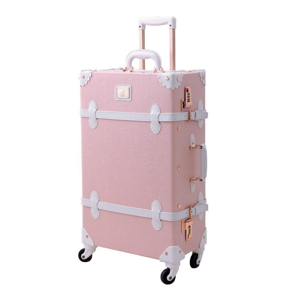 Vintage Style Cherry Blossom Carry-on Luggage-My Gaia Travel Buddy