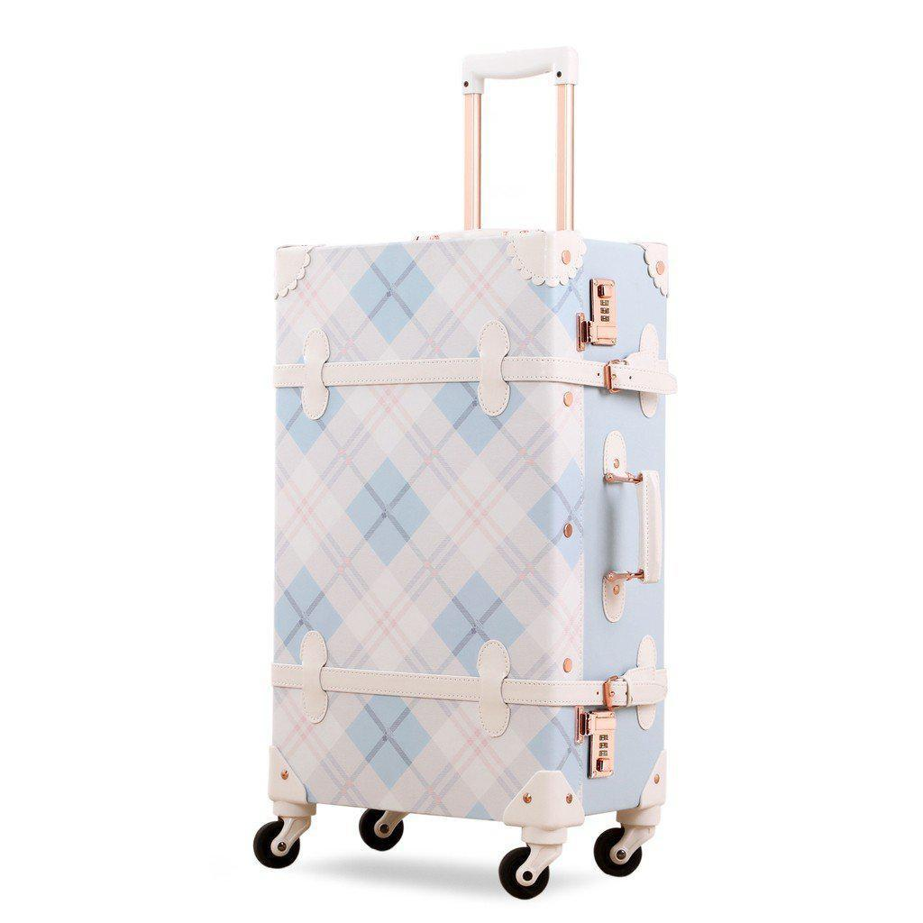 Vintage Style Mosaic Collection Luggage - My Gaia Travel Buddy