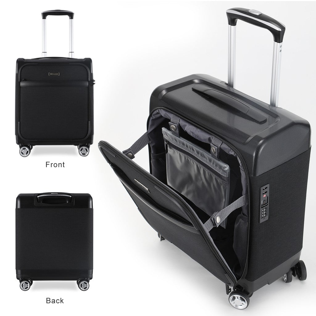 Lightweight 16 inch Unerseat Spinner Luggage-My Gaia Travel Buddy