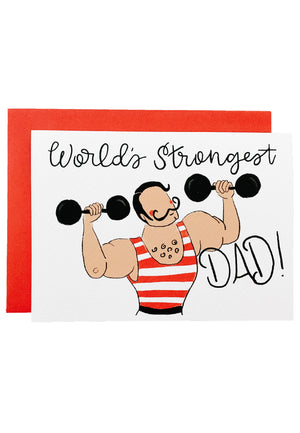 World's Strongest Dad