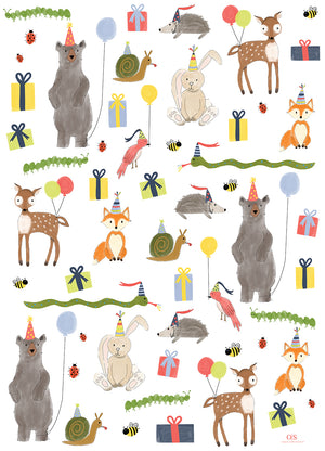WOODLAND PARTY ANIMALS