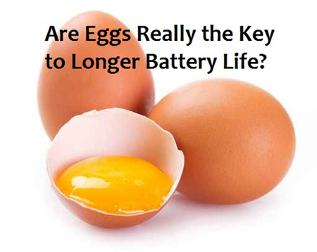 Really? Eggs May Help Batteries Last Longer?