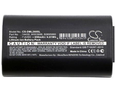 DYMO 260P 280 LabelManager 260 LabelManager 260P L Replacement Battery-3