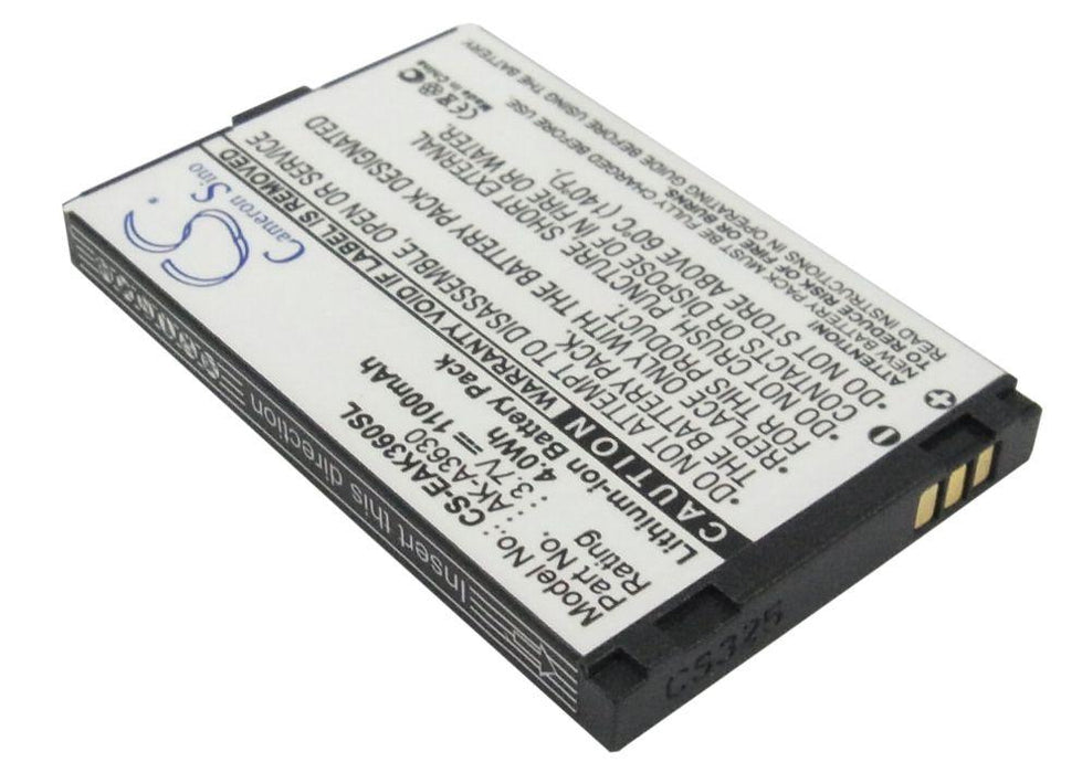 Emporia TELEME A3620 Replacement Battery-2