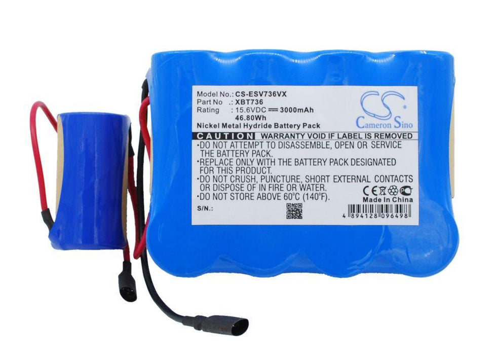 Euro Pro Shark SV736 Shark SV736R Shark SV75 Shark Replacement Battery
