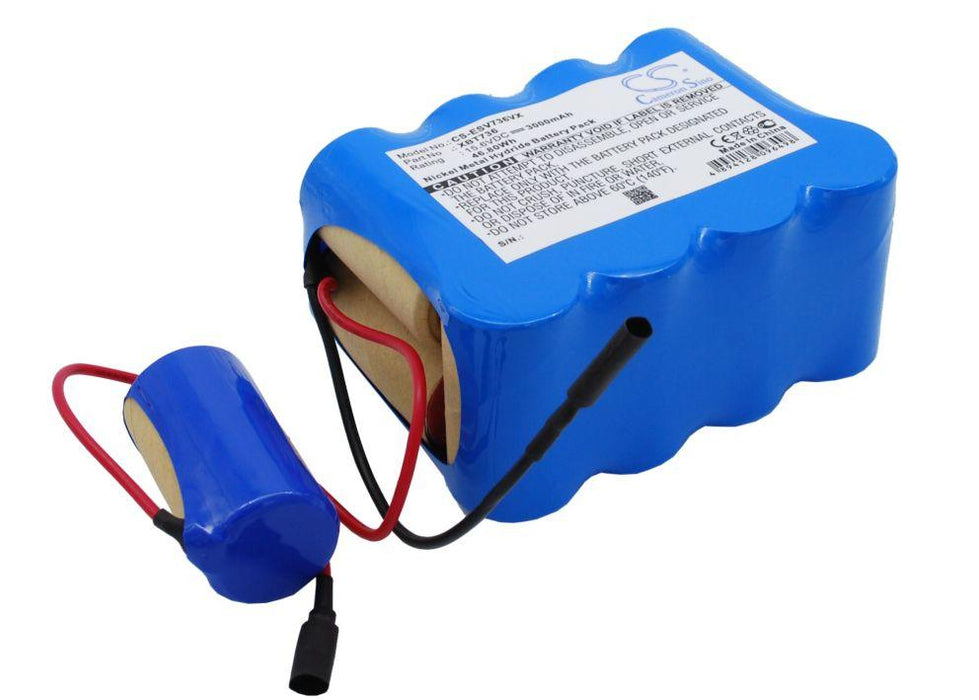 Euro Pro Shark SV736 Shark SV736R Shark SV75 Shark Replacement Battery-2
