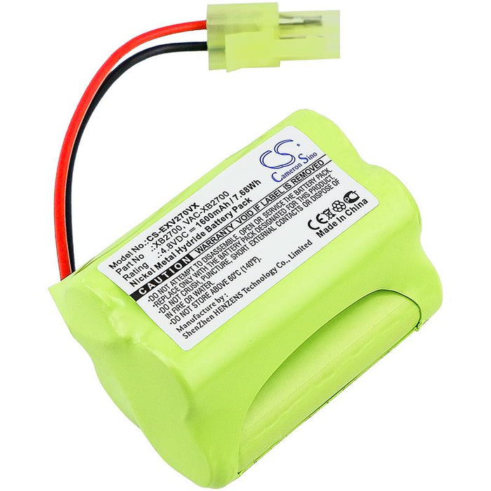 Euro Pro V2700Z XB2700 Replacement Battery