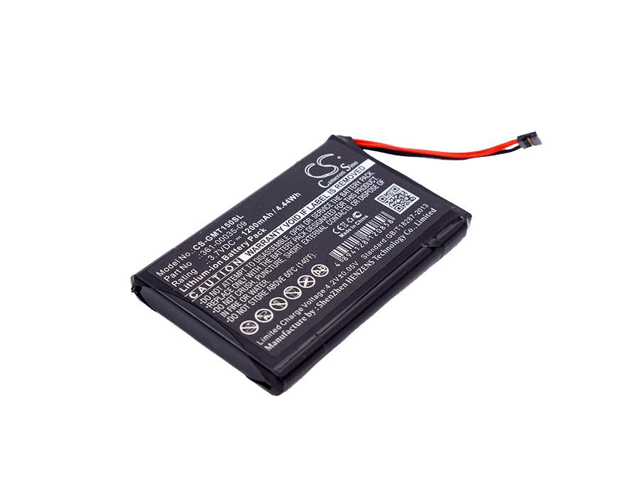 Garmin T 5 miniT 5 miniTT 15 miniTT 15 min 1200mAh Replacement Battery