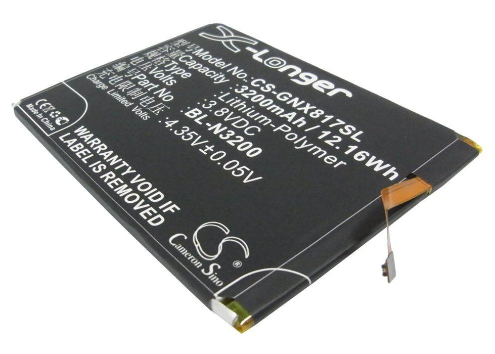 GIONEE X817 Replacement Battery
