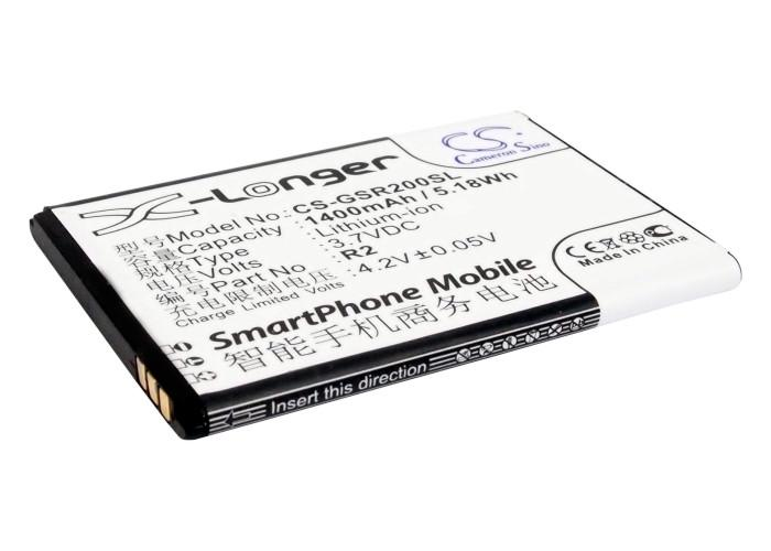 Gsmart R2 Roma R2 Replacement Battery