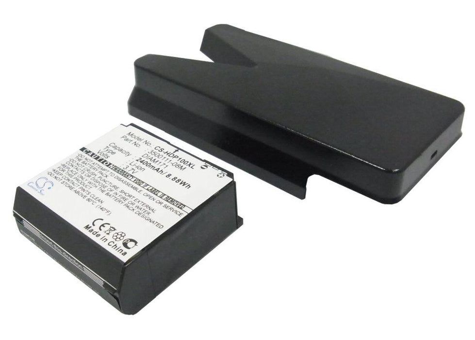 SoftBank Touch Pro X05HT 2400mAh Replacement Battery