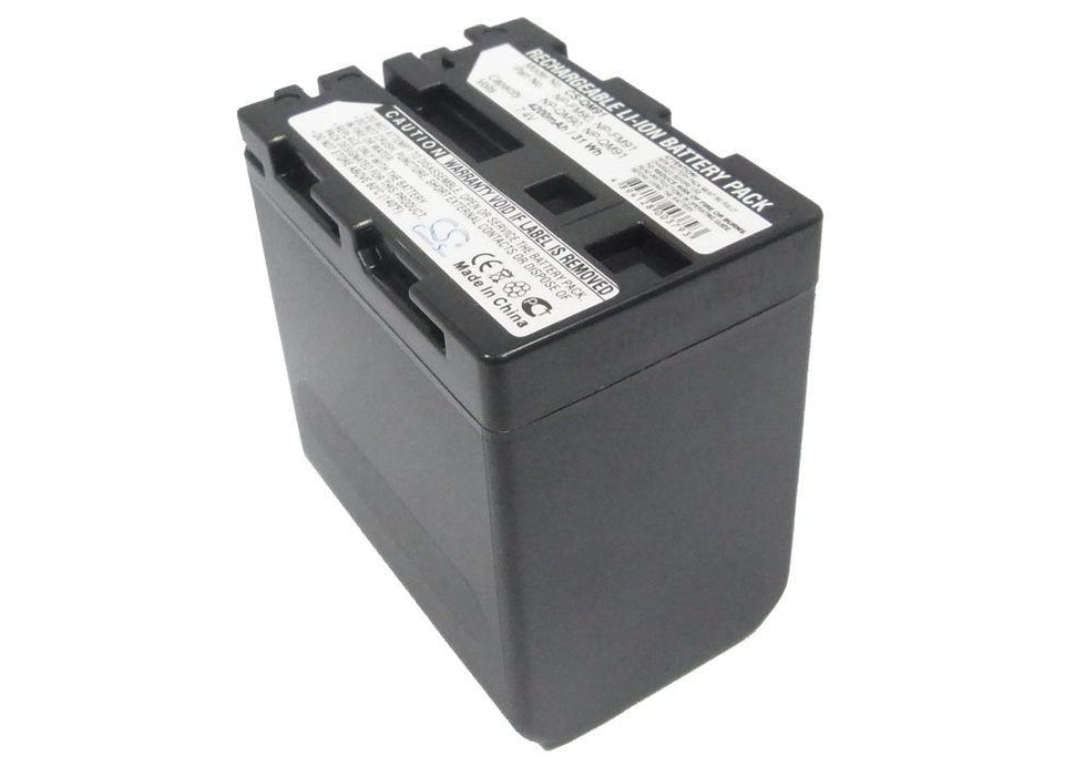 Sony CCD-TRV108 CCD-TRV118 CCD-TRV128 CCD- 4200mAh Replacement Battery