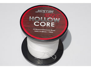 JIGSTAR HOLLOW CORE BRAID 250 Yards
