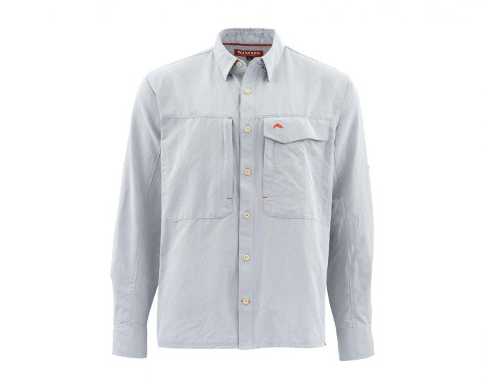 SIMMS GUIDE LS SHIRT MARL