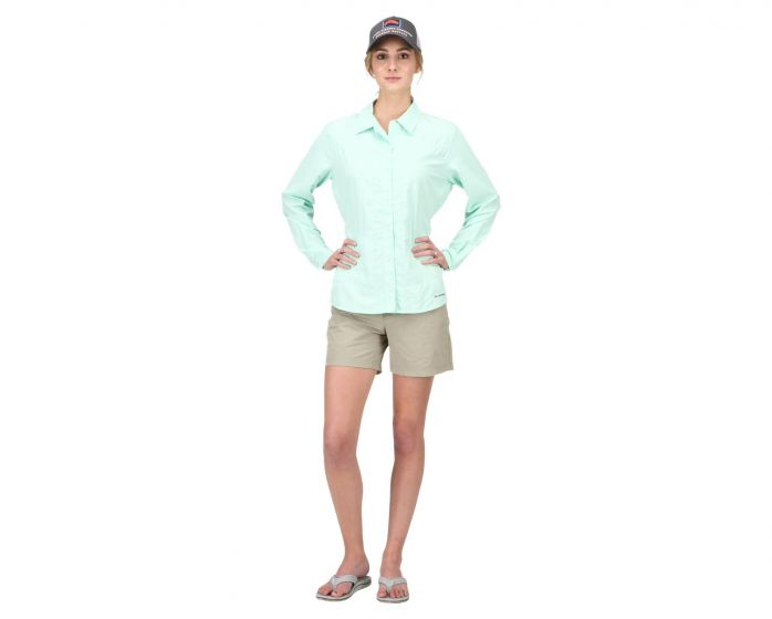 SIMMS ISLE LS SHIRT - WOMAN's