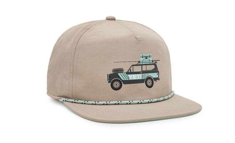 YETI ADVENTURE VEHICLE ROPE HAT