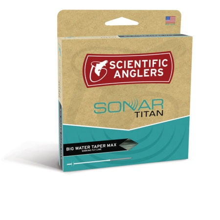 SCIENTIFIC ANGLERS - SONAR TITAN - BWT - MAX SINK
