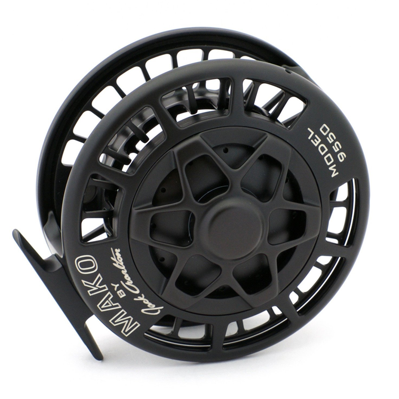 Mako 9550 Medium Saltwater Reel - Black