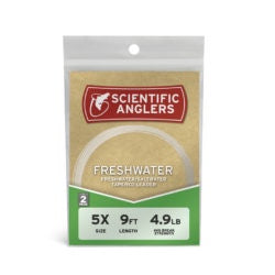 SCIENTIFIC ANGLERS LEADER 2 Pack - FRESHWATER