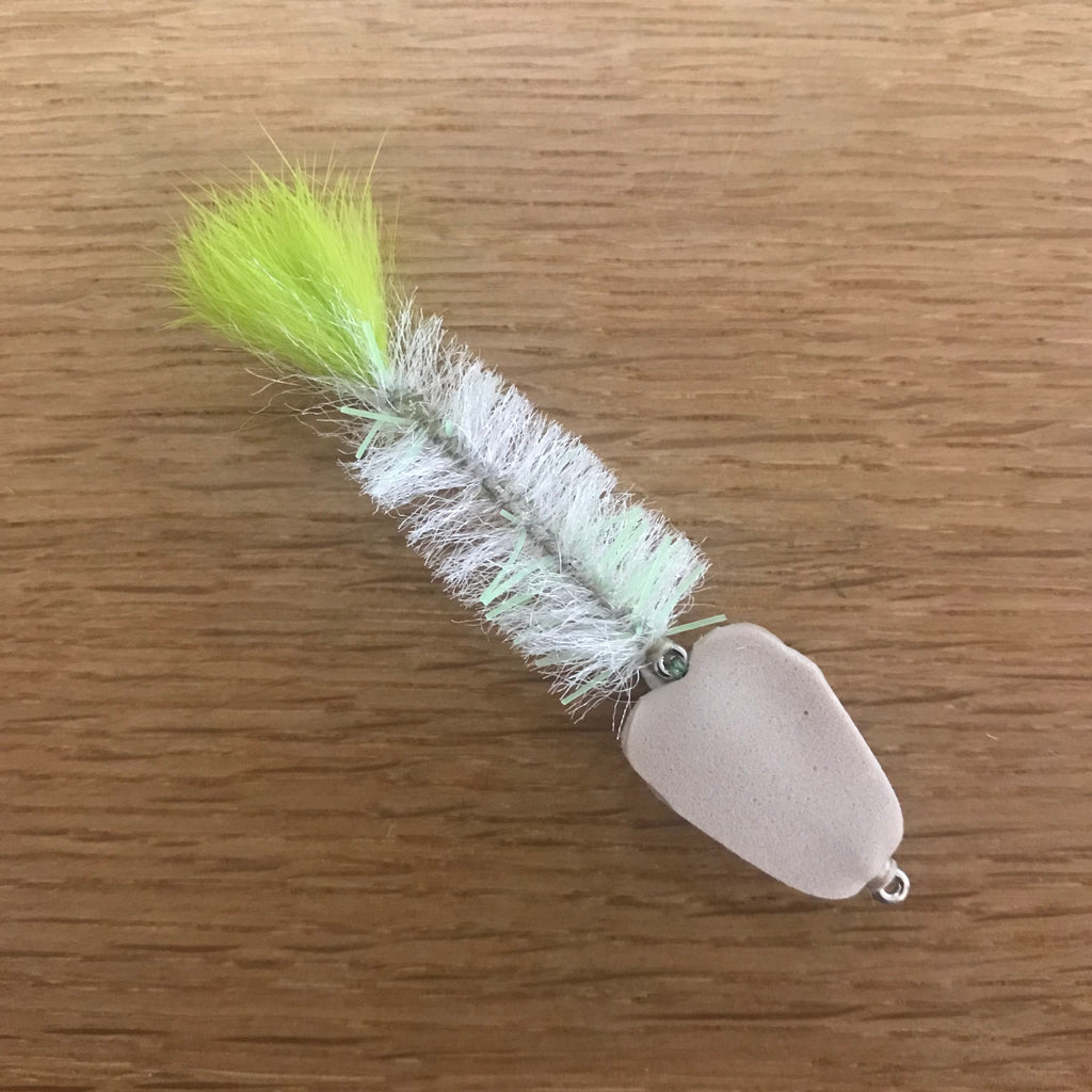 CUSTOM TIE LIVELY GRUNTER PRAWN FLY