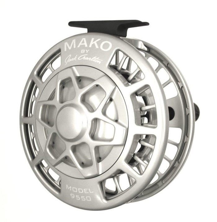 Mako 9550 Medium Saltwater Reel - Platinum