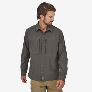 PATAGONIA LONG SLEEVE SNAP-DRY SHIRT