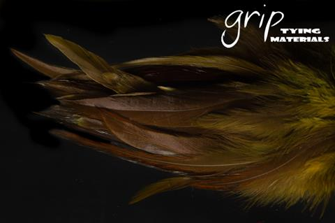GRIP STRUNG SADDLE HACKLE