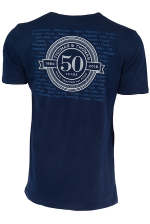 THOMAS & THOMAS 50TH ANNIVERSARY T-SHIRT