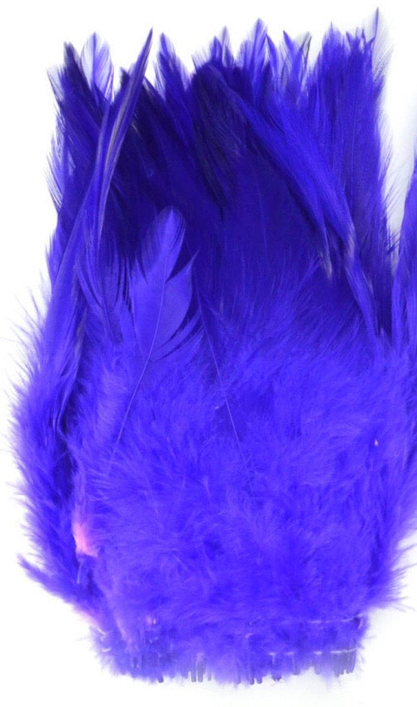 WAPSI STRUNG ROOSTER SADDLE HACKLE DYED LONG