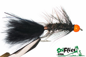 SCI FLIES WOOLLY BUGGER (TUNGSTEN) - 3Pkt