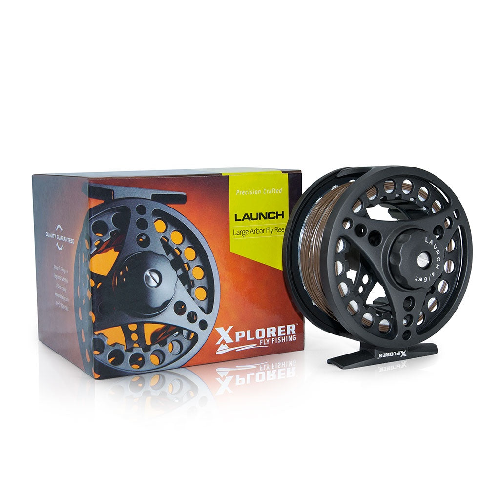 XPLORER LAUNCH FLY REEL