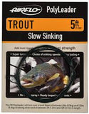 AIRFLO TROUT POLYLEADER 5FT