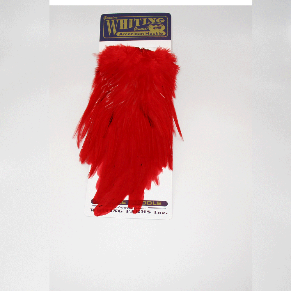 WHITING AMERICAN ROOSTER SADDLE HACKLE