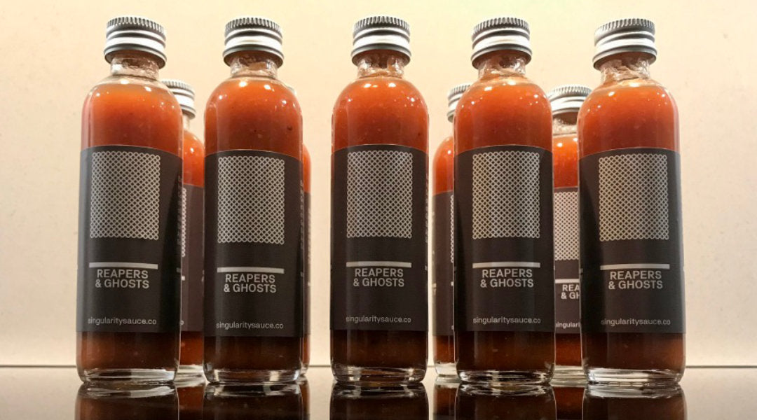 Reapers & Ghosts hot sauce
