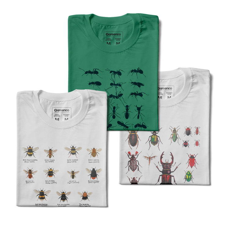 Kit Men's T-shirts - Insects