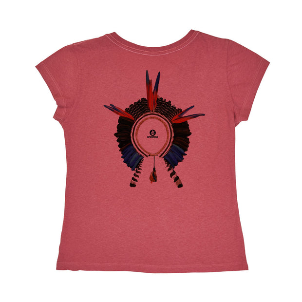 Recotton Women's T-shirt - Headdress